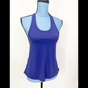 Lululemon Clip In Tank Blue Size 8